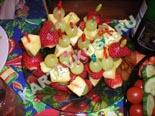 десерты и выпечка - рецепты с фото | фруктовое канапе