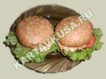 горячие закуски - рецепты c фото | гамбургеры из крабовых палочек