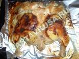 вторые блюда из курицы | курица запеченная с апельсинами - рецепт с фото