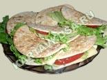 холодные закуски | лепешки с сыром и помидорами - рецепт с фото
