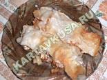горячие закуски - рецепты c фото | мясо в лаваше