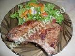 вторые блюда из свинины | свиные отбивные в панировке - рецепт с фото