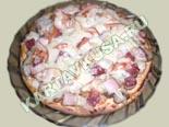горячие закуски - рецепты c фото | пицца с ветчиной и грибами