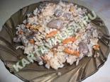 вторые блюда из курицы | плов с куриным сердцем - рецепт с фото