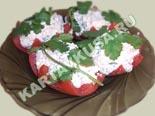 холодные закуски | помидоры, фаршированные творогом - рецепт с фото