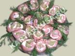 холодные закуски | рулетики из семги - рецепт с фото
