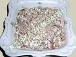салаты из рыбы и морепродуктов | салат из печени трески со сладким перцем - рецепт с фото