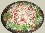 рецепты салатов с фото | овощные салаты