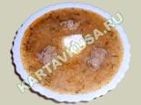 первые блюда - рецепты с фото | рисовый суп с фрикадельками