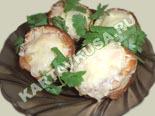 горячие закуски - рецепты c фото | волованы с начинкой
