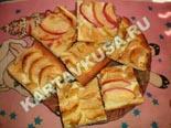 десерты и выпечка - рецепты с фото | яблочный пирог на тонком тесте