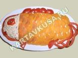 холодные закуски | закуска из консервированной рыбы - рецепт с фото
