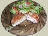 вторые блюда из курицы | куриные зразы с ветчиной и сыром - рецепт с фото
