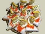 холодные закуски | бутерброды с икрой кораблики | рецепт и фото