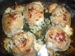 вторые блюда из курицы | фаршированные куриные бедрышки - рецепт с фото
