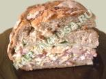холодные закуски | фаршированный хлеб | рецепт и фото