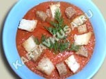первые блюда - рецепты с фото | гаспачо