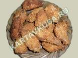 вторые блюда из курицы | хрустящие куриные крылышки - рецепт с фото