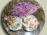 блюда из кабачков | фаршированные кабачки мясом - рецепт с фото