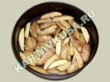 вторые овощные блюда, гарниры | картофель по-деревенски - рецепт с фото