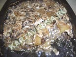 вторые овощные блюда, гарниры | картошка, запеченная с грибами - рецепт с фото