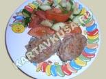блюда из фарша | котлеты из говядины с беконом - рецепт и фото