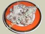 вторые блюда из курицы | тушеная курица с грибами - рецепт с фото