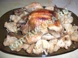 вторые блюда из курицы | курица в рукаве - рецепт с фото
