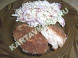 блюда из фарша | куриные котлеты с беконом - рецепт и фото