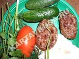 блюда на мангале и гриле, шашлыки | люля-кебаб из свинины и говядины - рецепт и фото