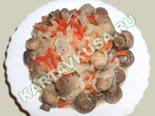 блюда из грибов | маринованные грибы по-корейски - рецепт с фото