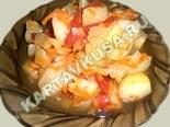 блюда из кабачков | овощное рагу из кабачков с картофелем - рецепт с фото