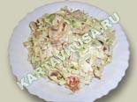 блюда из грибов | овощной салат с сырыми шампиньонами - рецепт с фото