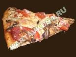 блюда из грибов | пицца с ветчиной и грибами - рецепт с фото