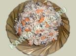 вторые овощные блюда, гарниры | рис с грибами - рецепт с фото
