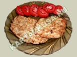 блюда из фарша | рубленный шницель из курицы - рецепт и фото