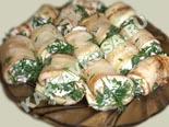 блюда из кабачков | рулетики из кабачков с сыром - рецепт с фото