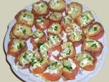 холодные закуски | рулетики из красной рыбы с рисом | рецепт и фото