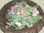 популярные рецепты салатов | салат цезарь с креветками