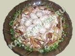 популярные рецепты салатов | салат гнездо глухаря