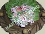 салаты из рыбы и морепродуктов | салат из креветок с грейпфрутом - рецепт с фото
