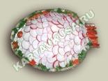 салаты из рыбы и морепродуктов | салат из скумбрии - рецепт c фото