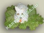 салаты из рыбы и морепродуктов | салат кролик - рецепт c фото