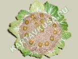 салаты из рыбы и морепродуктов | салат новогодние часы - рецепт c фото