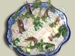 новые рецепты салатов | салат рыбки в пруду