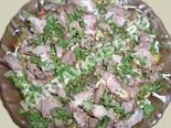 новые рецепты салатов | салат с жареной свининой
