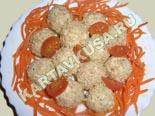 холодные закуски | шарики из сыра с крабовыми палочками | рецепт и фото