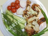 блюда на мангале и гриле, шашлыки | шшашлык из курицы в майонезе - рецепт и фото