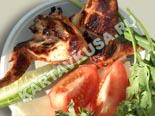 блюда на мангале и гриле, шашлыки | шашлык из куриных крылышек - рецепт и фото