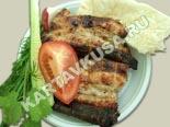 вторые блюда из свинины | шашлык из свиных ребрышек на решетке - рецепт с фото